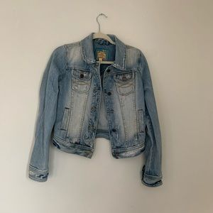 Vintage Abercrombie and Fitch Jean Jacket
